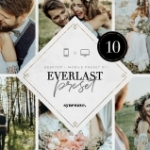 田园乡村风情婚礼色调LR预设/移动APP滤镜Everlast Lightroom Presets