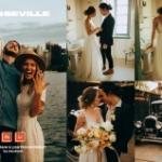通透复古橙色调旅拍婚礼人像免费LR预设-Natural Light Wedding