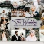 旅拍跟拍婚礼Lightroom预设+手机APP滤镜 The Wedding Lightroom Presets
