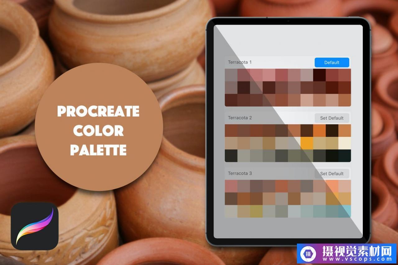 Procreate调色板-Terracota插图