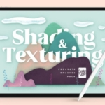多用途绘画阴影纹理Procreate生成笔刷 Shading and Texture Procreate Brushes