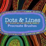 Procreate 点和线条个性笔刷下载(brushset)