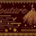 经典的笔刷文件 Couture Brushes
