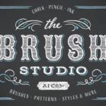 笔刷特效素材包 The Brush Studio