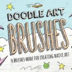 涂鸦笔刷 Doodle Brushes