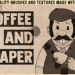 咖啡污渍手工纸张包 Coffee&Paper – Handcrafted Pack