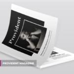 高端摄影主题A4杂志版式设计INDD模板 Provident | Magazine Template