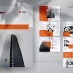 创意代理公司简介宣传画册&服务手册设计模板 RADEON Creative Agency Company Profile Brochures