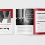 极简主义Workbook创意设计模板v4 Runaway – Minimalist Workbook Template