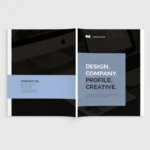 创意设计公司画册设计模板 Design Company Profile