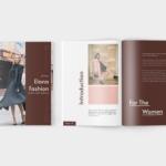 时装产品目录设计模板 Elana Fashion Lookbook Catalogue