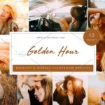 黄金时段逆光人像Lightroom预设与APP滤镜 Lightroom Presets, Golden Hour