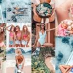 夏日沙滩旅拍人像莫兰迪Lightroom预设与APP滤镜 IN LOVE BLOGGER LR PRESETS