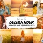 黄金时段逆光通透人像Lightroom预设/移动APP滤镜 Golden Hour Lightroom Presets