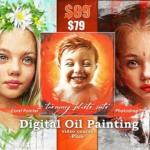 Corel Painter 和 Photoshop 数字油画视频课程PLUS(含笔刷)
