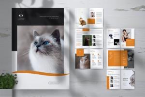 宠物店业务宣传手册设计模板 LOSI Pet Shop Business Brochure