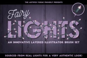 彩灯笔刷 Fairy Light Brushes