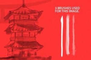毛笔笔刷 Japan ProBrush™